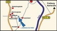 Anfahrt auf den Rheinring