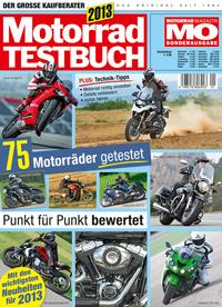 Motorrad Testbuch 2013