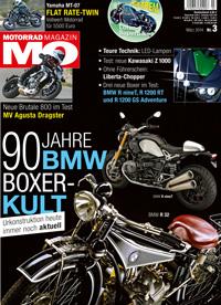 MO Motorrad Magazin, Ausgabe 3.2014