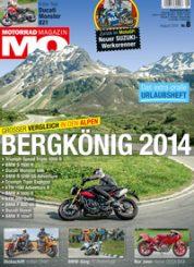 Motorrad Magazin MO, Ausgabe 2014-08
