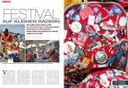 Größtes Roller-Treffen der Welt: Vespa World Days in Mantua