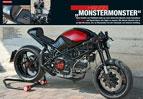 Radikaler Ducati Monster-Umbau von Schilling