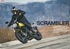 Test der neuen Ducati Scrambler mit luftgekühltem 800er-Twin