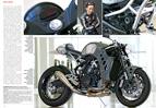 echtes Biest: KTM RC8 zum kernigen Naked Bike umgebaut