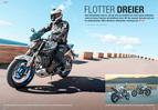 neues Yamaha-Naked Bike: MT-03 im Test, dazu neue MT-09