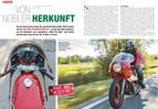 Vom echten Könisgwellen-Schlag: Ducati MH 900 Mike Hailwood Replika von 1982
