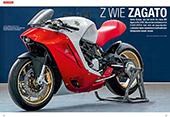 Gebaut von Zagato für einen Japaner: MV Agusta F4Z
