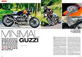 Guzzi 1000 S zum Roadster selbst gebaut