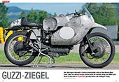 Moto Guzzi-Rennmaschine von 1953 Vierzylinder-Reihenmotor