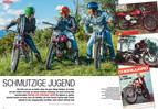 50er-Offroad-Mopeds von Aprilia, Fantic und Garelli