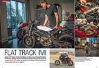 Ducati-Flat Tracker von Designer Alex Earle aus USA