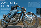 Suzuki GT 550: drei Zylinder, zwei Takte, einmaliges Motorrad