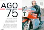 75 Jahre Giacomo Agostini, der Motorrad-Rennfahrer schlechthin