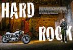 in Stein gemeiselt: felsiger Harley-Sportster-Umbau, der sogar fahren kann
