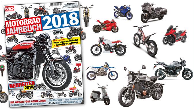 motorrad jahrbuch 2018 motorrad magazin mo. Black Bedroom Furniture Sets. Home Design Ideas
