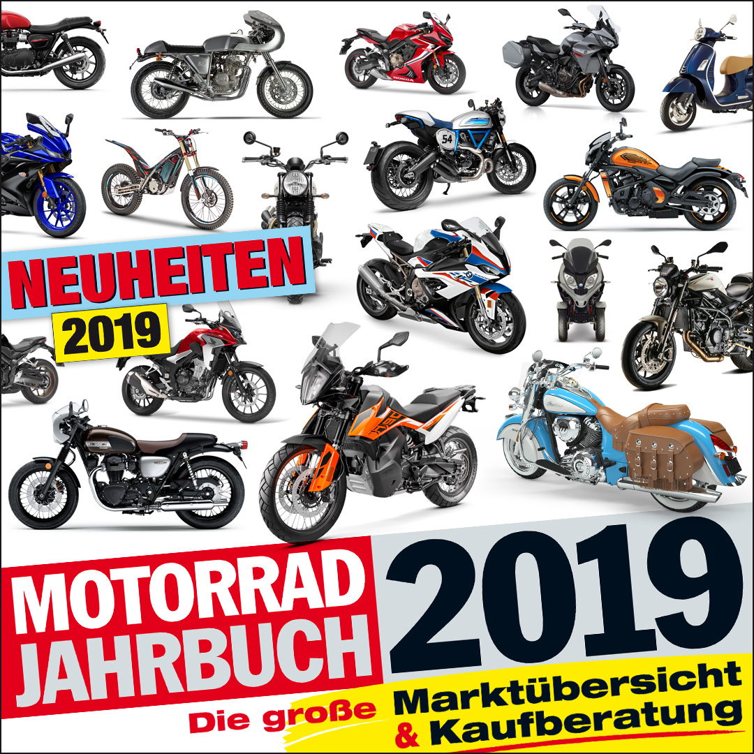 Motorrad Jahrbuch 2019 Widget