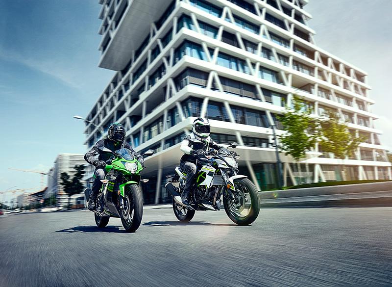 Kawasaki Ninja 125 und Z125