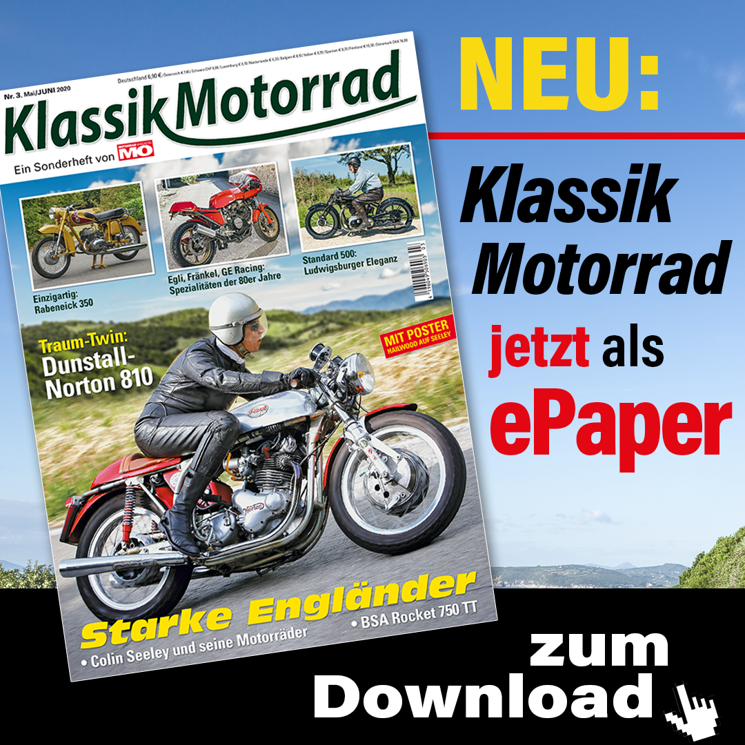 Klassik Motorrad Epaper 1080x1080px