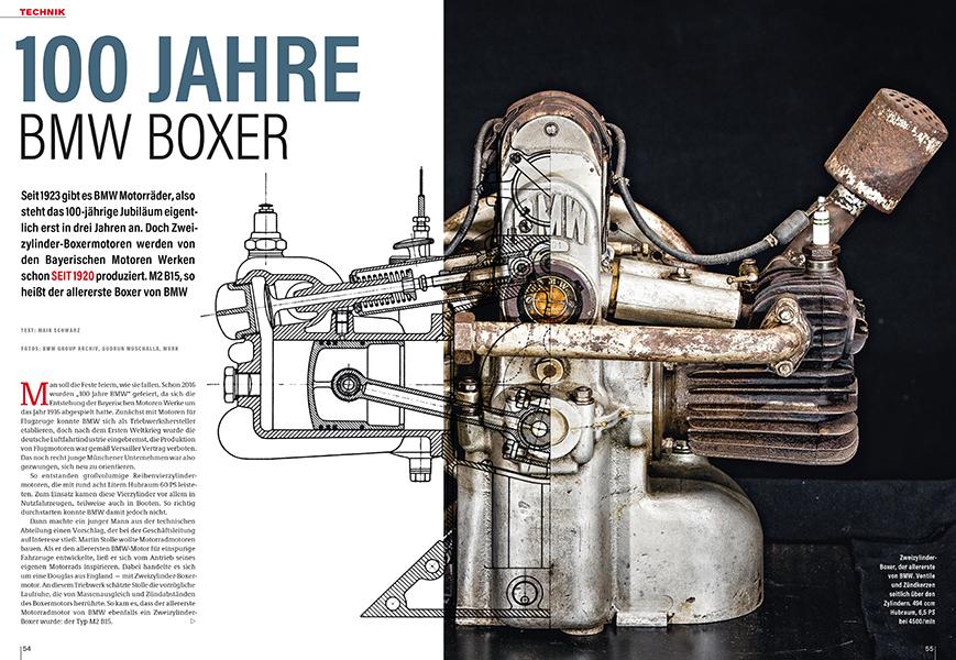 Rückblick auf ein Jahrhundert BMW-Boxer