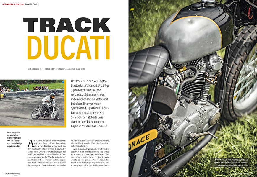 Ducati 250 Dirt Tracker
