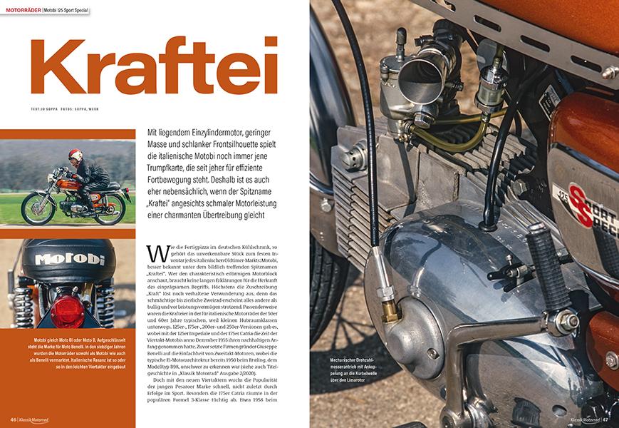 Das Kraftei: Motobi 125 Sport Special