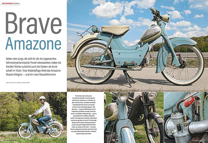 Seltenes 50er-Moped: Kreidler Amazone
