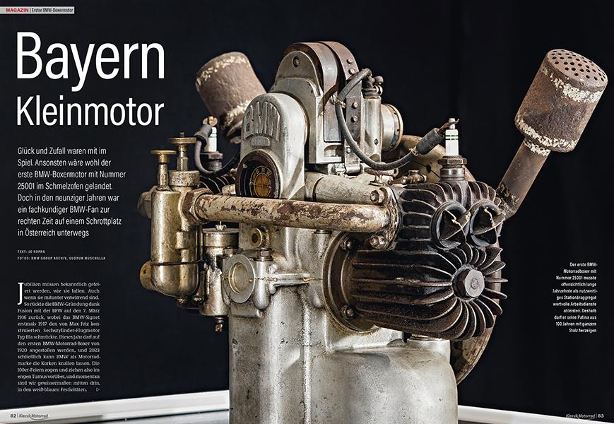 Vor 100 Jahren: der erste BMW-Boxer