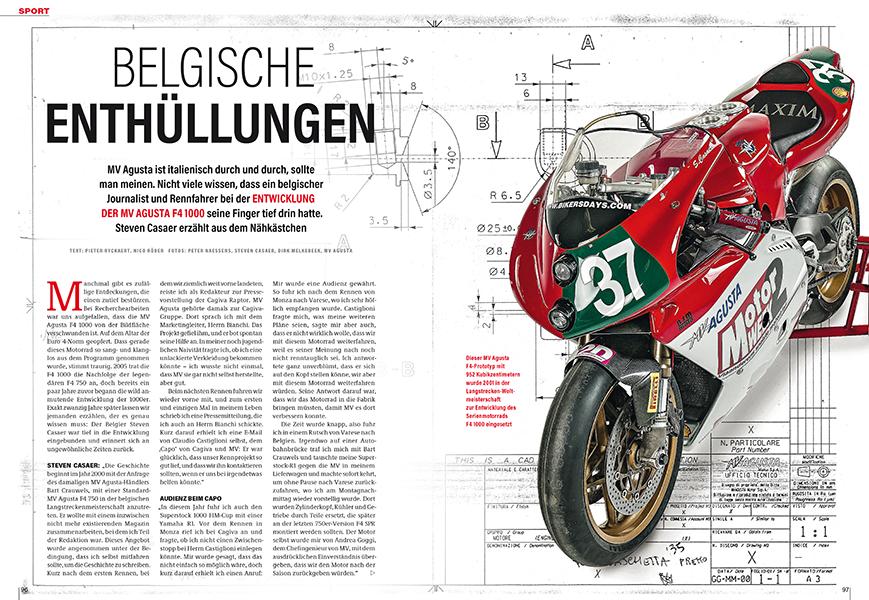 Entwicklung der MV Agusta F4 1000 S: Das Superbike entstand in privater Initiative
