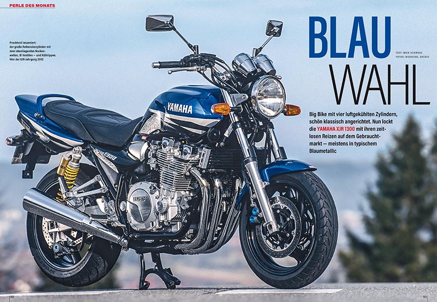 Perle des Monats: Yamaha XJR 1300, die letzte luftgekühlte Yamaha mit durchzugsstarkem Vierzylinder. Gebrauchtberatung