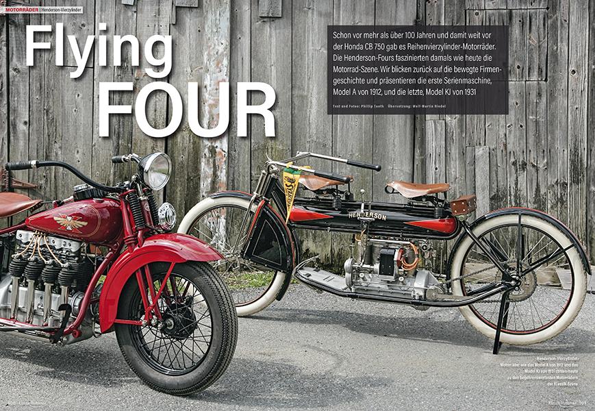 Die Henderson-Vierzylinder waren schon vor mehr als 100 Jahren das beste, was man kaufen konnte