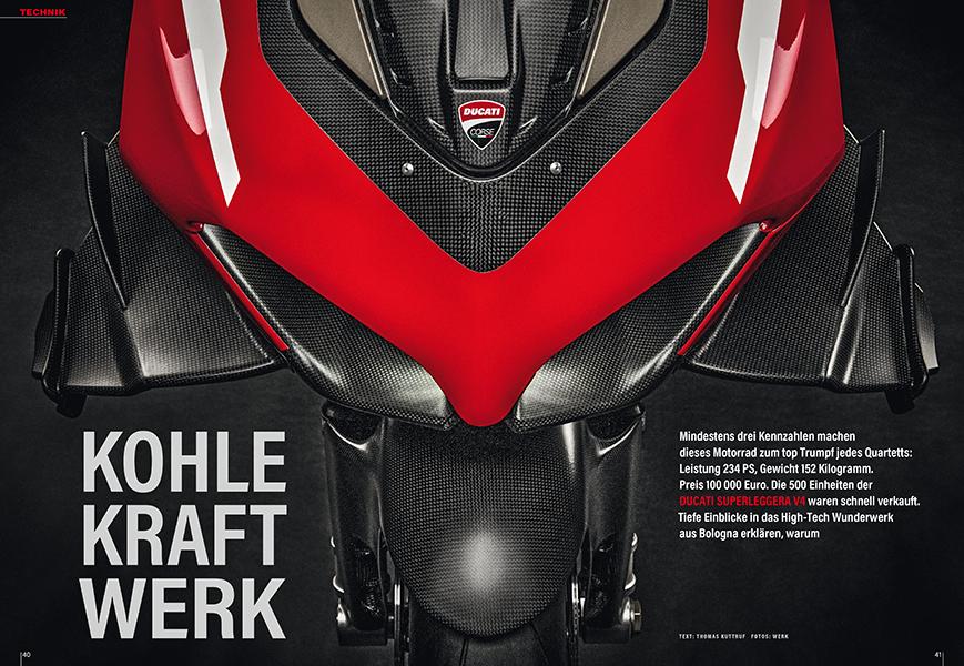 Ducati Superleggera V4: großer Technik-Report plus eindrücklicher Rennstreckentest