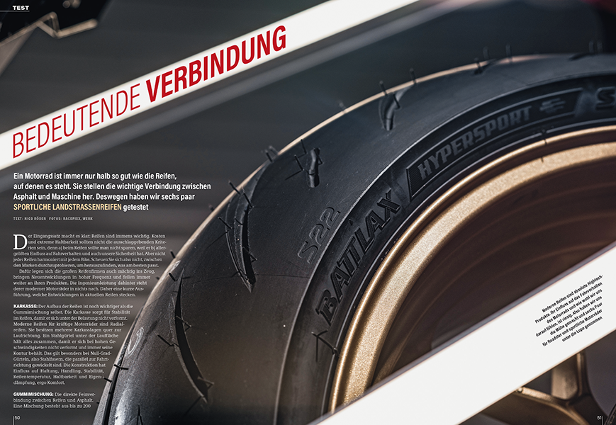 Welche Reifen bringen das Potenzial von modernen Roadstern am besten heraus? Sechs Paar im Vergleich
