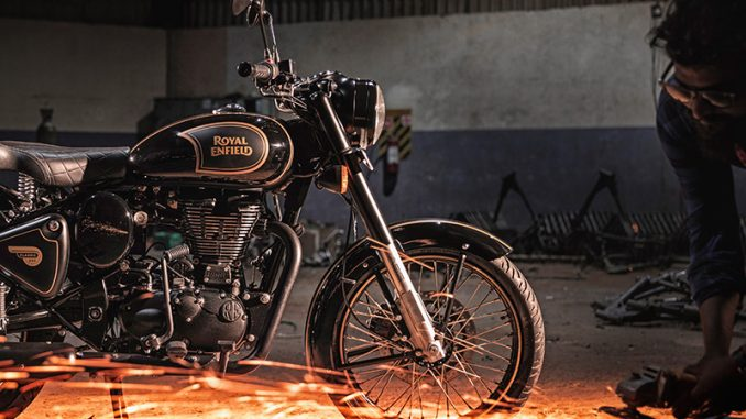 Royal Enfield Classic 500 Tribute Black