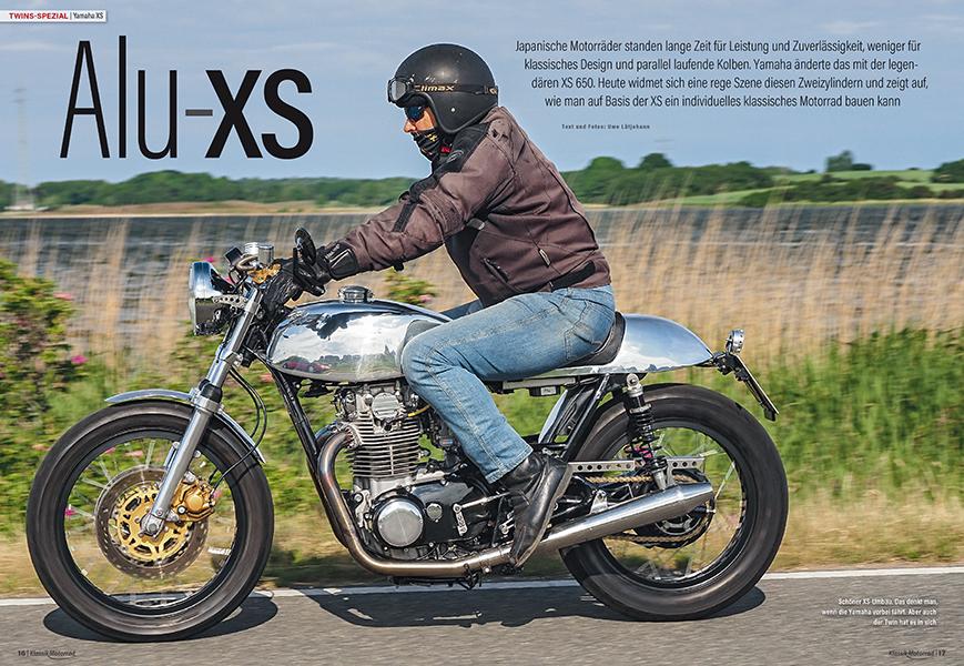 Twins-Spezial: Yamaha XS 650 mit mehr Hubraum und umfangreich poliertem Leichtmetall