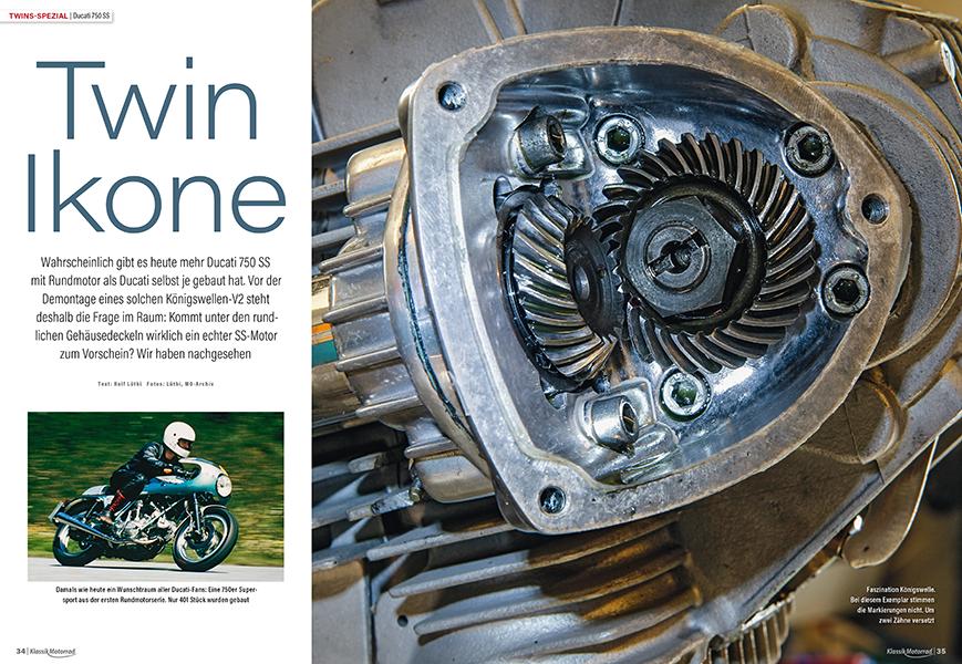 Twins-Spezial: Ducati 750 Super Sport auf Originalität geprüft