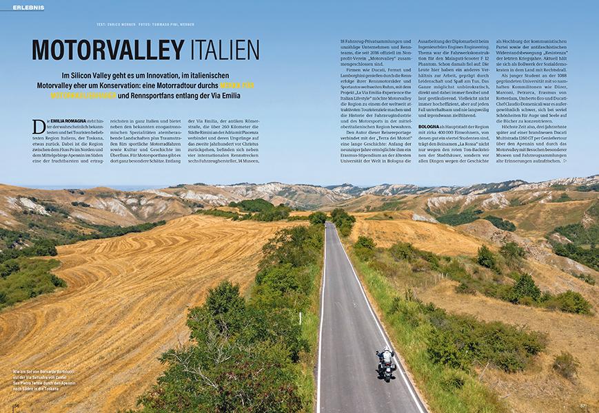 Motor Valley in Norditalien, wo der Gral des italienischen Fahrzeugbaus liegt. Rundreise