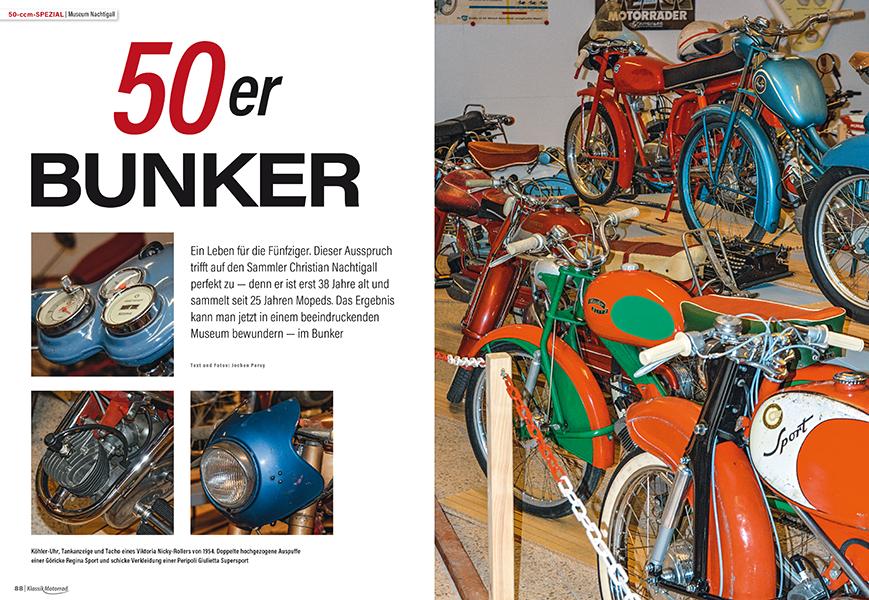 50-ccm-Spezial: Mopedbunker in der Pfalz