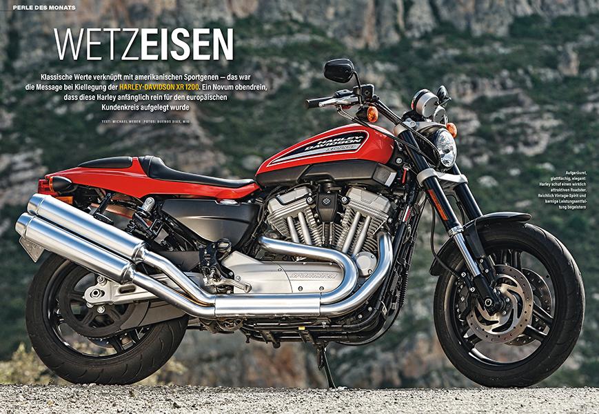 Perle des Monats: Harley-Davidson XR 1200