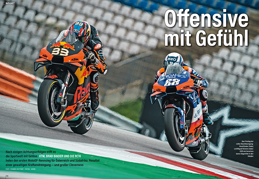 Der steinge Weg von KTM bis zum ersten Sieg in der Königsklasse MotoGP