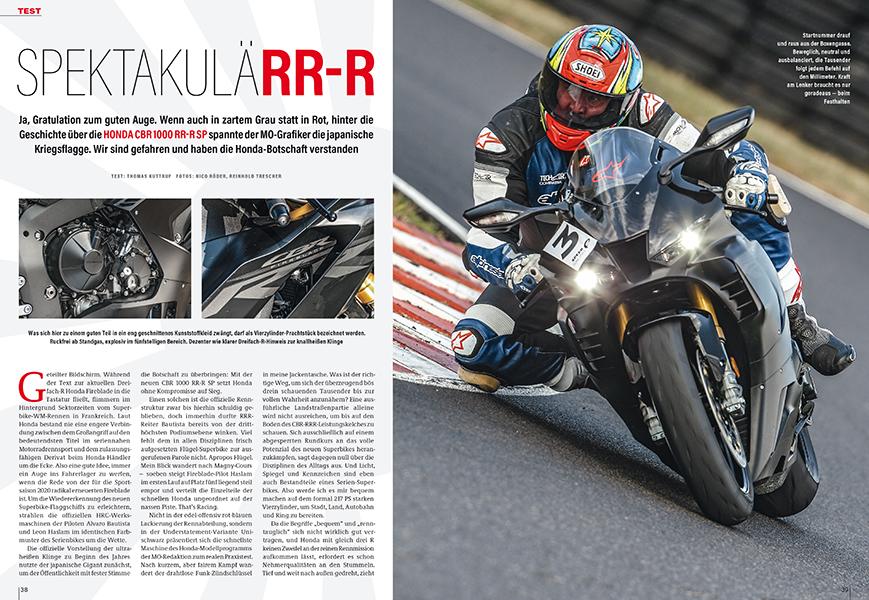 Neues Superbike Honda CBR 1000 RR-R Fireblade SP ausgiebig getestet