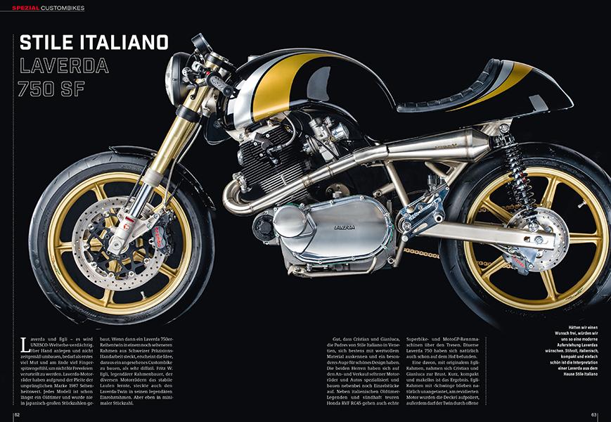 Custombike-Spezial: Egli-Laverda 750 SF/E