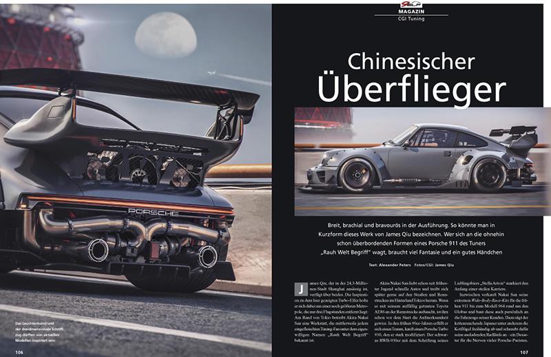 Brutaler 911 Turbo mit CGI Tuning aus Shanghai