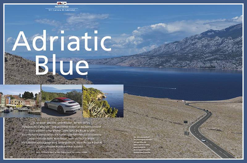 MIt dem Kurvenkünstler 911 4S Cabriolet durch Kroatien