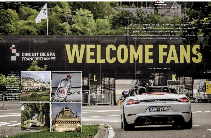 Eifel und Ardennen im Boxster 718 GTS