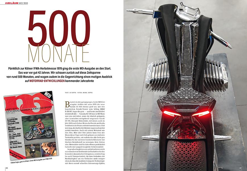 MO 500: Rückblick und Ausblick auf weitere 500 Ausgaben