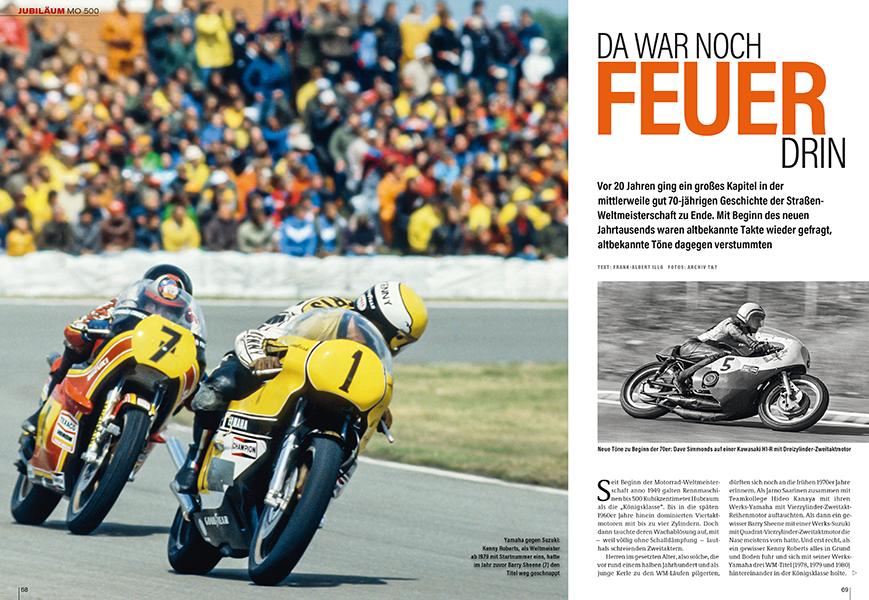 MO 500: die 500er-WM, ihre Fahrer und Maschinen