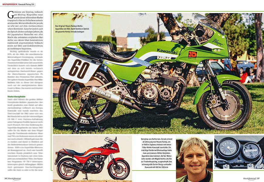 1983 gewann Wayne auf der Kawasaki GPz 750 die AMA-Superbike-Meisterschaft