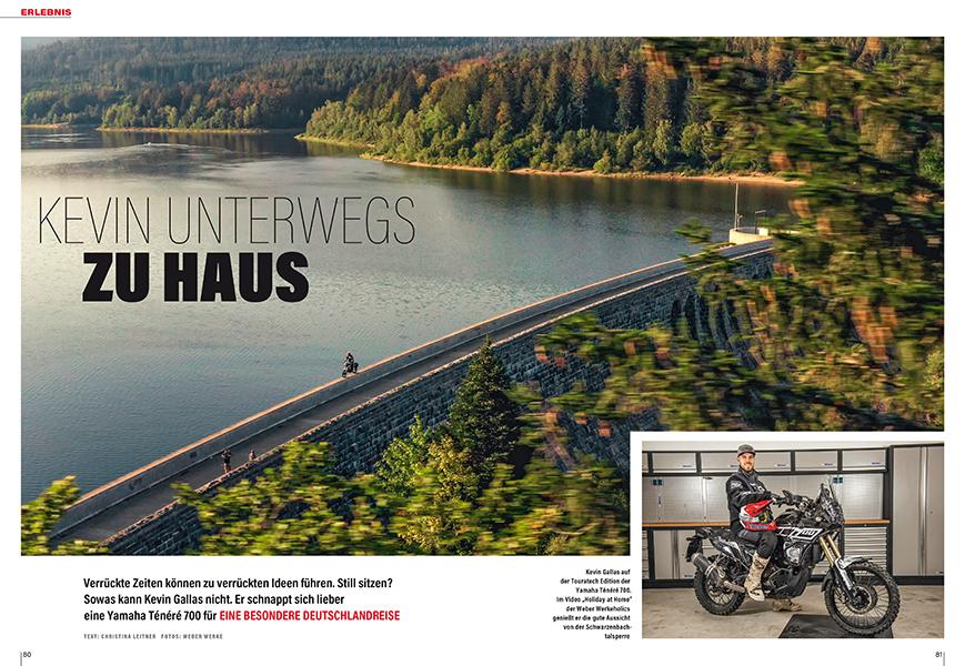 Holiday at home: spektakuläre Fahrt abseits gewohnter Pfade durch ganz Deutschland