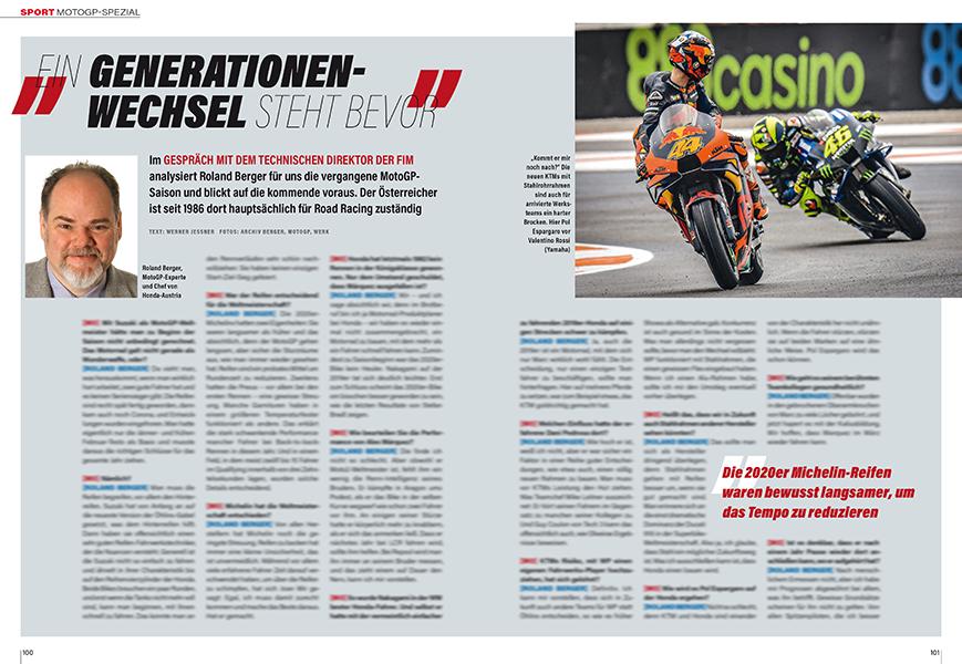 MotoGP Spezial: FIM-Kommissar Roland Berger über spannende Details bei den MotoGP-Teams