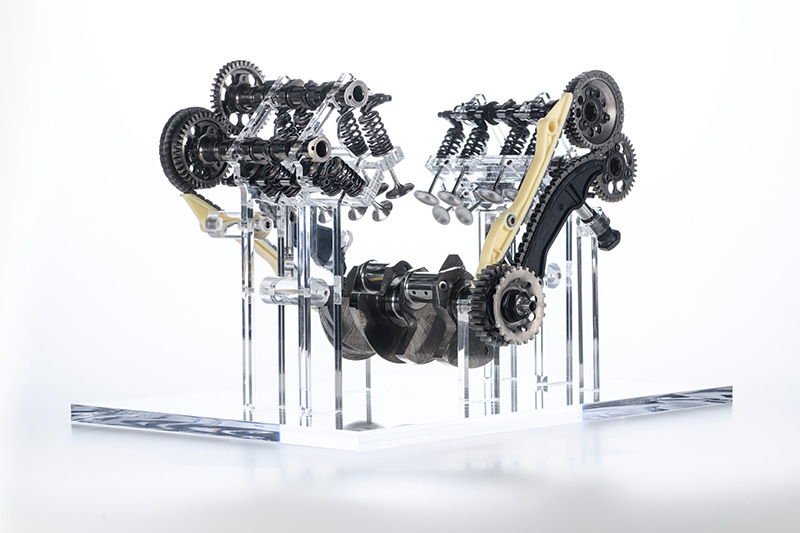 V4-Motor der Ducati Multistrada erstmals ohne Desmodromik